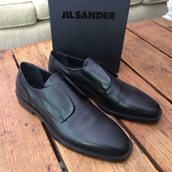 Jil Sander No Lace Derby Oxford Calf